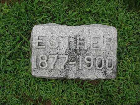 NELSON, ESTHER - Burt County, Nebraska | ESTHER NELSON - Nebraska Gravestone Photos