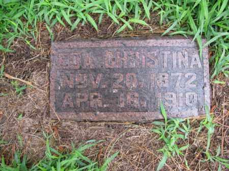 NELSON, EDA CHRISTINA - Burt County, Nebraska | EDA CHRISTINA NELSON - Nebraska Gravestone Photos