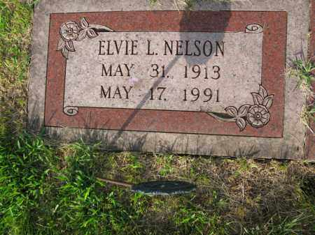 NELSON, ELVIE L. - Burt County, Nebraska | ELVIE L. NELSON - Nebraska Gravestone Photos