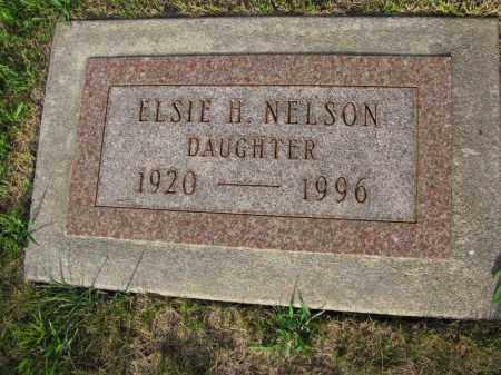 NELSON, ELSIE H. - Burt County, Nebraska | ELSIE H. NELSON - Nebraska Gravestone Photos