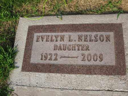 NELSON, EVELYN L. - Burt County, Nebraska | EVELYN L. NELSON - Nebraska Gravestone Photos
