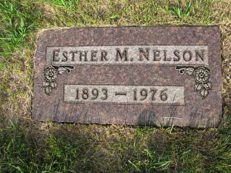 NELSON, ESTHER M. - Burt County, Nebraska | ESTHER M. NELSON - Nebraska Gravestone Photos