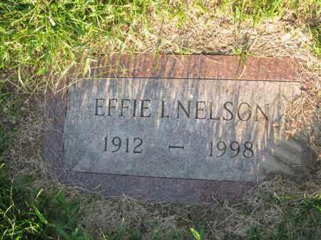 NELSON, EFFIE I. - Burt County, Nebraska | EFFIE I. NELSON - Nebraska Gravestone Photos