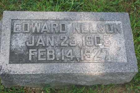 NELSON, EDWARD - Burt County, Nebraska | EDWARD NELSON - Nebraska Gravestone Photos