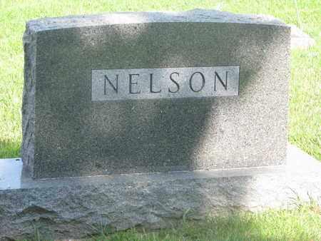 NELSON, (FAMILY MONUMENT) - Burt County, Nebraska   (FAMILY MONUMENT) NELSON - Nebraska Gravestone Photos