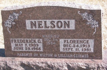 NELSON, FREDERICK G. - Burt County, Nebraska | FREDERICK G. NELSON - Nebraska Gravestone Photos