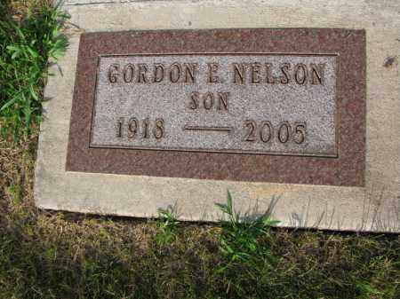 NELSON, GORDON E. - Burt County, Nebraska | GORDON E. NELSON - Nebraska Gravestone Photos