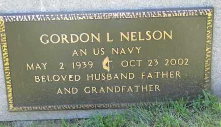 NELSON, GORDON L. (MILITARY) - Burt County, Nebraska | GORDON L. (MILITARY) NELSON - Nebraska Gravestone Photos