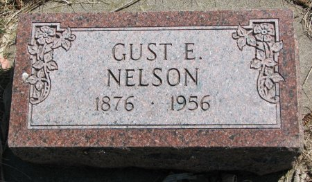 NELSON, GUST E. - Burt County, Nebraska | GUST E. NELSON - Nebraska Gravestone Photos