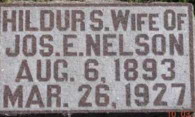 NELSON, HILDUR S. - Burt County, Nebraska | HILDUR S. NELSON - Nebraska Gravestone Photos