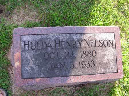 NELSON, HULDA - Burt County, Nebraska | HULDA NELSON - Nebraska Gravestone Photos