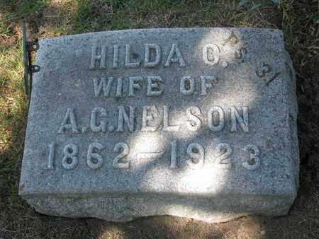 NELSON, HILDA O. - Burt County, Nebraska | HILDA O. NELSON - Nebraska Gravestone Photos