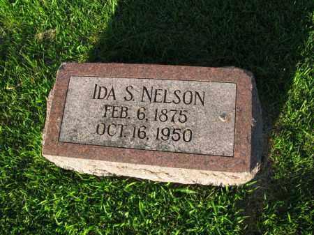 NELSON, IDA S. - Burt County, Nebraska | IDA S. NELSON - Nebraska Gravestone Photos