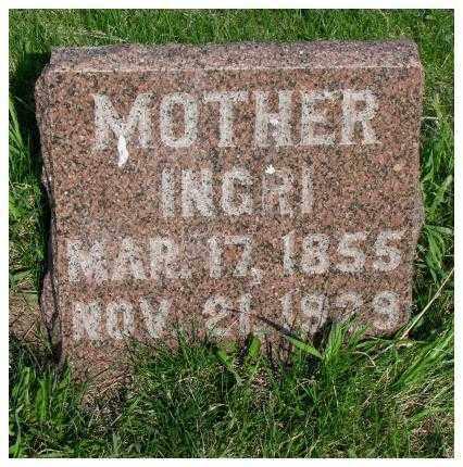 NELSON, INGRI - Burt County, Nebraska | INGRI NELSON - Nebraska Gravestone Photos