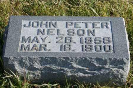 NELSON, JOHN PETER - Burt County, Nebraska | JOHN PETER NELSON - Nebraska Gravestone Photos