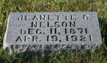 NELSON, JEANETTE C. - Burt County, Nebraska | JEANETTE C. NELSON - Nebraska Gravestone Photos