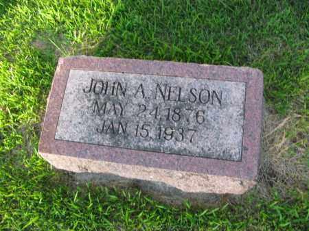 NELSON, JOHN A - Burt County, Nebraska | JOHN A NELSON - Nebraska Gravestone Photos