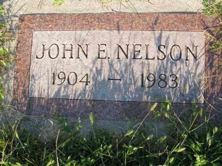 NELSON, JOHN E. - Burt County, Nebraska   JOHN E. NELSON - Nebraska Gravestone Photos