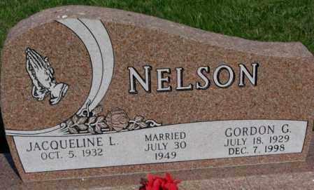 NELSON, JACQUELINE L. - Burt County, Nebraska | JACQUELINE L. NELSON - Nebraska Gravestone Photos