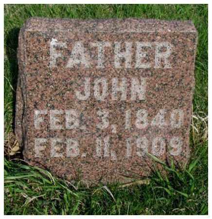 NELSON, JOHN - Burt County, Nebraska | JOHN NELSON - Nebraska Gravestone Photos