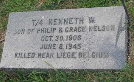 NELSON, KENNETH W. - Burt County, Nebraska | KENNETH W. NELSON - Nebraska Gravestone Photos
