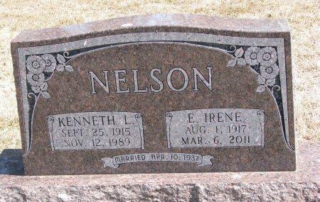 NELSON, E. IRENE - Burt County, Nebraska | E. IRENE NELSON - Nebraska Gravestone Photos