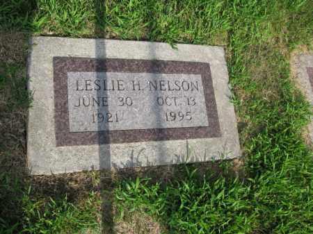 NELSON, LESLIE H. - Burt County, Nebraska | LESLIE H. NELSON - Nebraska Gravestone Photos