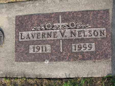 NELSON, LAVERNE V. - Burt County, Nebraska | LAVERNE V. NELSON - Nebraska Gravestone Photos