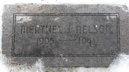 NELSON, MERTHEL J. - Burt County, Nebraska | MERTHEL J. NELSON - Nebraska Gravestone Photos