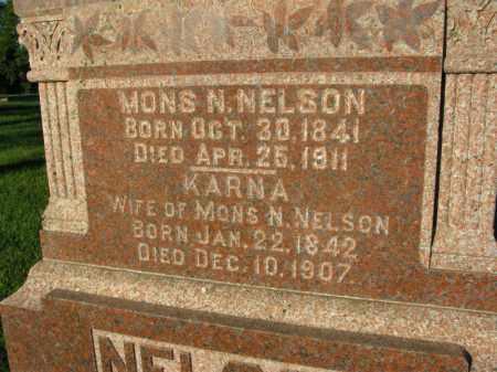 NELSON, MONS N. - Burt County, Nebraska | MONS N. NELSON - Nebraska Gravestone Photos