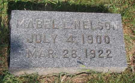 NELSON, MABEL L. - Burt County, Nebraska   MABEL L. NELSON - Nebraska Gravestone Photos