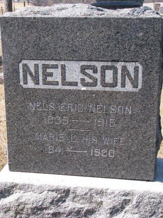 NELSON, NELS ERIC - Burt County, Nebraska | NELS ERIC NELSON - Nebraska Gravestone Photos