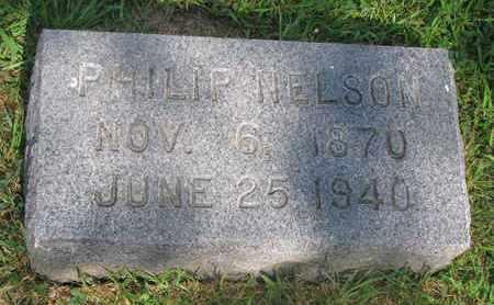 NELSON, PHILIP - Burt County, Nebraska   PHILIP NELSON - Nebraska Gravestone Photos