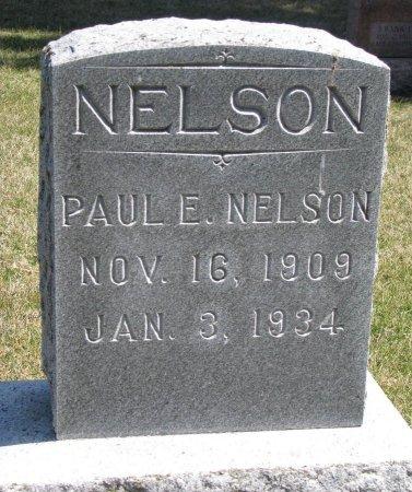 NELSON, PAUL E. - Burt County, Nebraska   PAUL E. NELSON - Nebraska Gravestone Photos