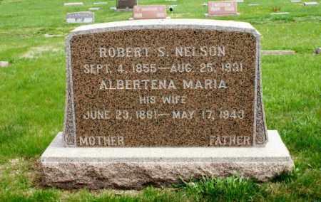 NELSON, ALBERTENA MARIA - Burt County, Nebraska | ALBERTENA MARIA NELSON - Nebraska Gravestone Photos