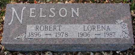 NELSON, LORENA - Burt County, Nebraska | LORENA NELSON - Nebraska Gravestone Photos
