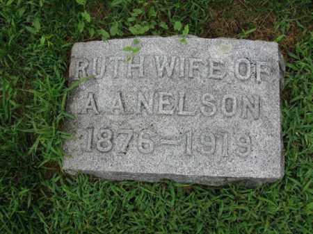 NELSON, RUTH - Burt County, Nebraska | RUTH NELSON - Nebraska Gravestone Photos
