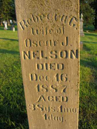 NELSON, REBECCA G. - Burt County, Nebraska | REBECCA G. NELSON - Nebraska Gravestone Photos