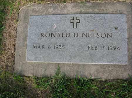 NELSON, RONALD D. - Burt County, Nebraska   RONALD D. NELSON - Nebraska Gravestone Photos