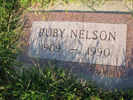 NELSON, RUBY - Burt County, Nebraska | RUBY NELSON - Nebraska Gravestone Photos