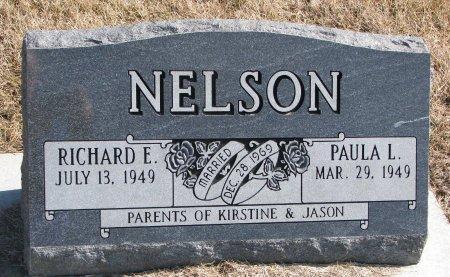 NELSON, RICHARD E. - Burt County, Nebraska   RICHARD E. NELSON - Nebraska Gravestone Photos