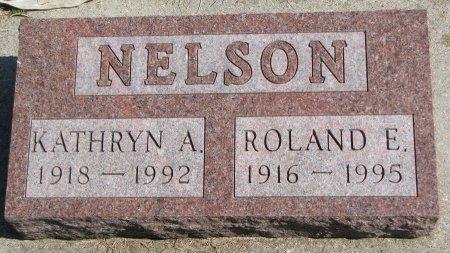 NELSON, ROLAND E. - Burt County, Nebraska | ROLAND E. NELSON - Nebraska Gravestone Photos