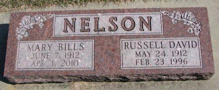 NELSON, RUSSELL DAVID - Burt County, Nebraska | RUSSELL DAVID NELSON - Nebraska Gravestone Photos