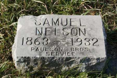 NELSON, SAMUEL - Burt County, Nebraska | SAMUEL NELSON - Nebraska Gravestone Photos