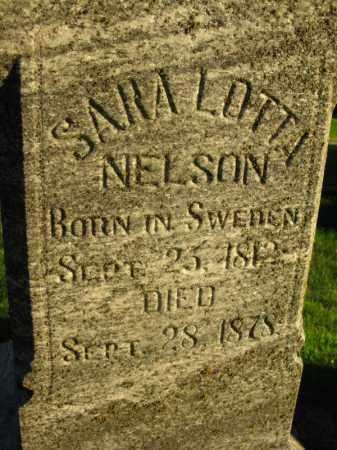 NELSON, SARA LOTTA - Burt County, Nebraska   SARA LOTTA NELSON - Nebraska Gravestone Photos