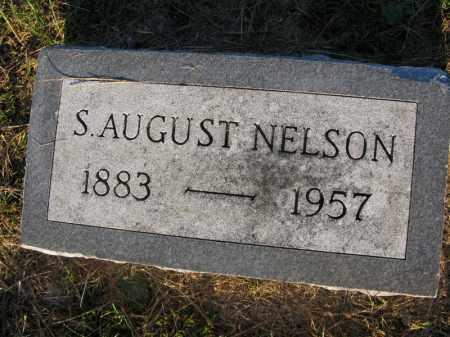 NELSON, S. AUGUST - Burt County, Nebraska   S. AUGUST NELSON - Nebraska Gravestone Photos