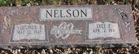 NELSON, VIRGINIA K. - Burt County, Nebraska | VIRGINIA K. NELSON - Nebraska Gravestone Photos