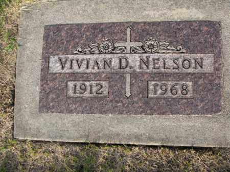 NELSON, VIVIAN D. - Burt County, Nebraska | VIVIAN D. NELSON - Nebraska Gravestone Photos