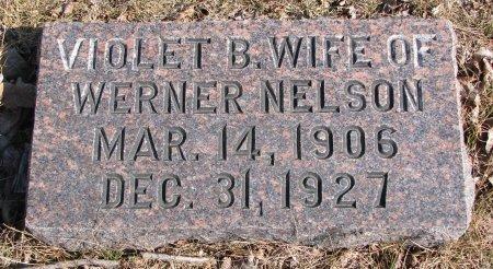 NELSON, VIOLET B. - Burt County, Nebraska   VIOLET B. NELSON - Nebraska Gravestone Photos