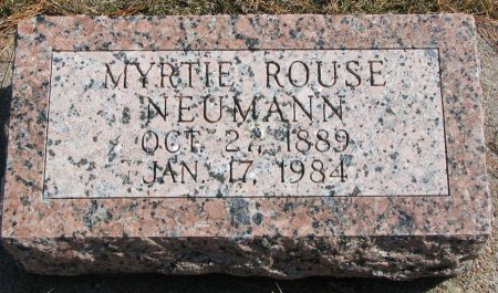 NEUMANN, MYRTIE - Burt County, Nebraska | MYRTIE NEUMANN - Nebraska Gravestone Photos